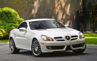2010 Mercedes-Benz SLK300 Diamond White Edition