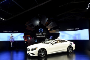 Mercedes-Benz Fashion Week Display