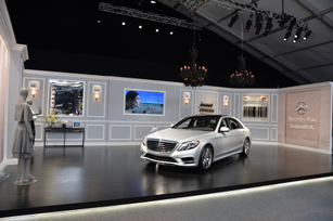 2014 S-Class Sets New Standards at Mercedes-Benz Fashion Week
