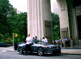 Chef Daniel Humm and the 2013 Mercedes-Benz SL63
