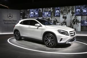GLA-Class Struts its Street Style at Mercedes-Benz Fashion Week