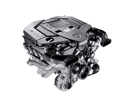 New 5.5-liter AMG V8 Engine