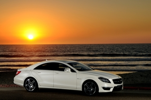 2012 CLS63 AMG Makes South Beach Debut