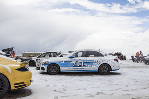 C 250 d 4MATIC sets record at Pikes Peak