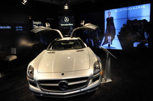 Mercedes-Benz Fashion Week SLS AMG Display