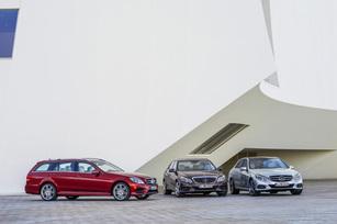 2014 E-Class Sedan and 2014 E-Class Wagon
