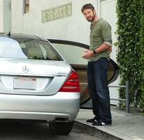 Gerard Butler, Mercedes-Benz S400 HYBRID