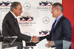 Mercedes-Benz Signs Naming Rights Agreement for Iconic New Venue in Atlanta