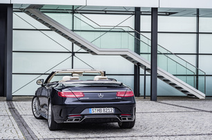 Mercedes-AMG S65 Cabriolet.